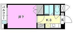 ジョイフル第3小坂[203 号室号室]の間取り
