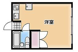 アリス本庄第2[B号室]の間取り