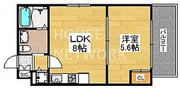 Residence西小路小米町[201号室号室]の間取り