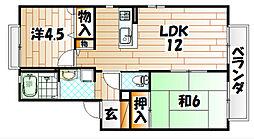 タイムⅡ[2階]の間取り