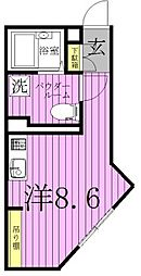 COCOSPACE北綾瀬[5階]の間取り