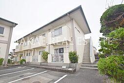 徳島県阿南市富岡町今福寺の賃貸アパートの外観