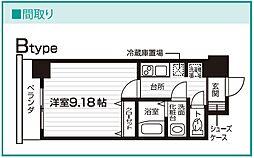 Nasic仙台東口[708号室号室]の間取り