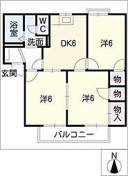 3POINT[2階]の間取り