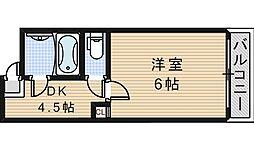 第1昭和町マンション[5階]の間取り