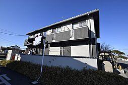 栃木県宇都宮市インターパーク2丁目の賃貸アパートの外観