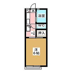 FERIO[1階]の間取り