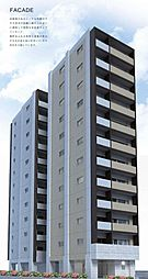 東京都府中市宮町1丁目の賃貸マンションの外観