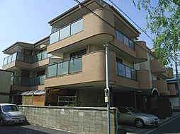 大阪府岸和田市加守町2丁目の賃貸マンションの外観