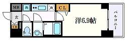 名古屋市営桜通線 丸の内駅 徒歩2分の賃貸マンション 2階1Kの間取り