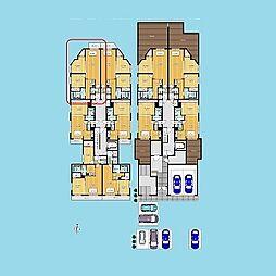 札幌市営南北線 北24条駅 徒歩4分の賃貸マンション 2階2LDKの間取り