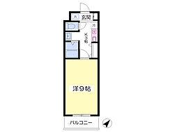 ROXY TAKAHATA 2411[111号室]の間取り
