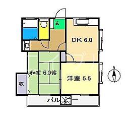 ビーノ[2階]の間取り