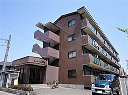 滋賀県東近江市沖野4丁目の賃貸マンションの外観