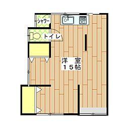[一戸建] 神奈川県横須賀市吉倉町1丁目 の賃貸【/】の間取り