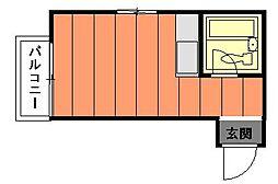 スカイパル[1階]の間取り