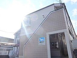 千葉県松戸市稔台2の賃貸アパートの外観
