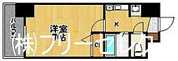 福岡県福岡市博多区博多駅東3の賃貸マンションの間取り