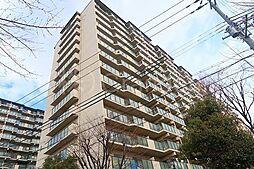 京橋グリーンハイツ2号棟[1階]の外観