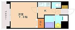 レジディア高宮[2階]の間取り