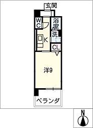 ベリッシーモ[2階]の間取り