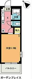 埼玉県上尾市谷津1の賃貸アパートの間取り