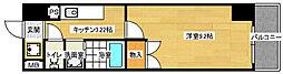 田部ビル[306号室]の間取り