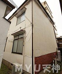 [テラスハウス] 福岡県福岡市早良区西新6丁目 の賃貸【/】の外観