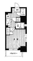 パークウェル神田EAST弐番館[10階]の間取り