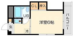 メゾン雅[4階]の間取り