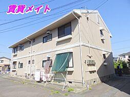 セジュール富田B棟[1階]の外観