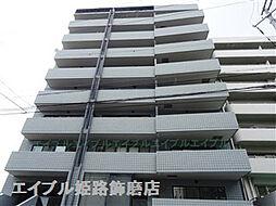 兵庫県姫路市安田4丁目の賃貸マンションの外観