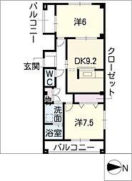 プロニティーハイム[1階]の間取り
