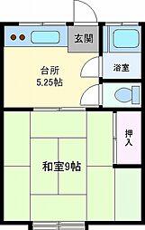 コーポさわ[103号室]の間取り