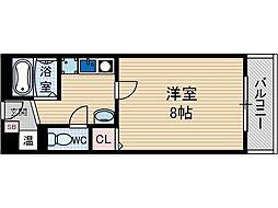 ステージ[2階]の間取り