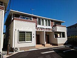 JR宇野線 八浜駅 7.6kmの賃貸アパート