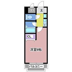 ロイヤル神戸王塚台[2階]の間取り
