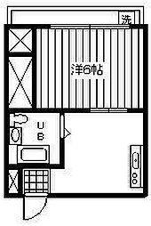 TM157[3階]の間取り