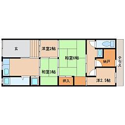 [一戸建] 兵庫県尼崎市潮江3丁目 の賃貸【/】の間取り