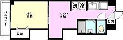 マツモト第三マンション[305号室]の間取り