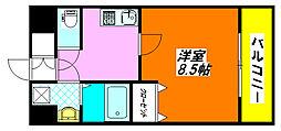 ロータリーマンション・長田東 402号室[4階]の間取り