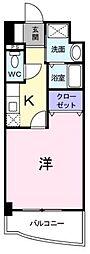 広島県福山市入船町1丁目の賃貸マンションの間取り
