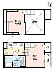 新築 トスカーニ[201号室号室]の間取り