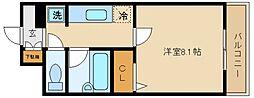 エリカII[2階]の間取り