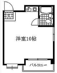 愛知県名古屋市千種区宮根台1丁目の賃貸マンションの間取り