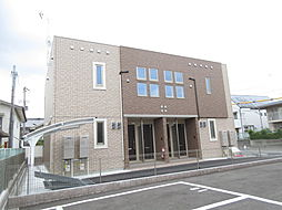 奈良県奈良市押熊町の賃貸アパートの外観