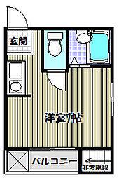 池田ビル[2階]の間取り