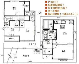都営新宿線 篠崎駅 徒歩5分 4LDKの間取り