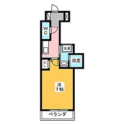 PONTE ALTO新栄[3階]の間取り