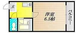 EVERY-1[6階]の間取り